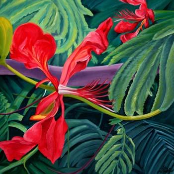 Floral #1 Flamboyant