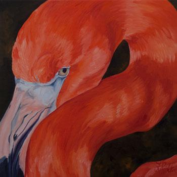 Flamingo to the Left