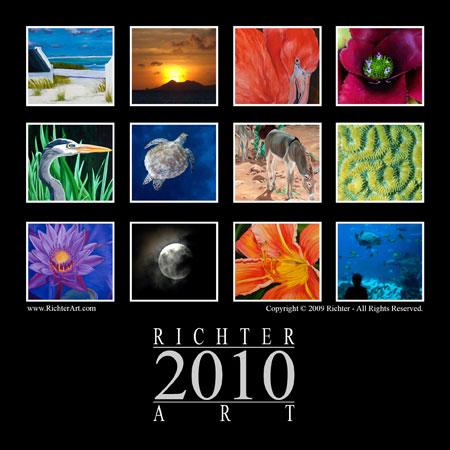 Richter Art 2010 Calendar