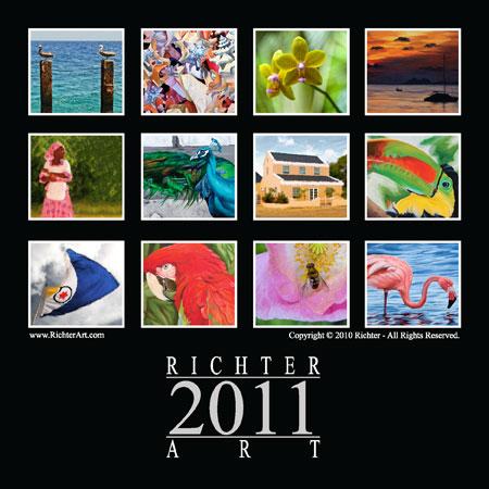 Richter Art 2011 Calendar