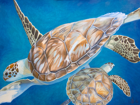 Turtle Ballet by Linda Richter